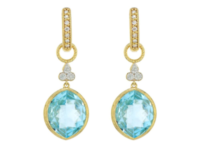 Closeup photo of  PROVENCE MARQUIS STONE TRIO EARRING CHARMS