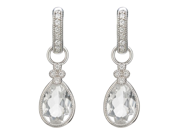 Closeup photo of  PEAR STONE PROVENCE CHARMS