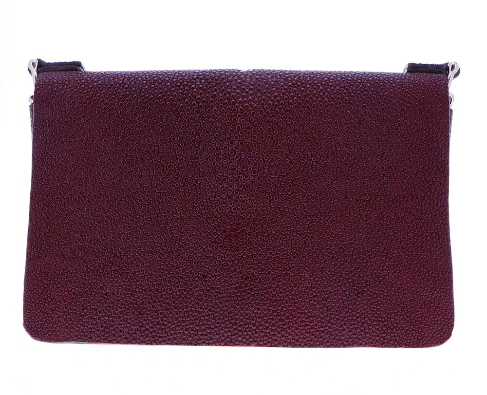 Image 2 for Burgundy Stingray Chain bag