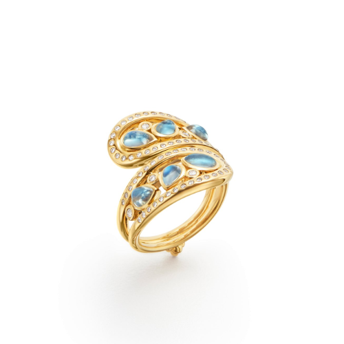 18K Arabesque Mummy Ring