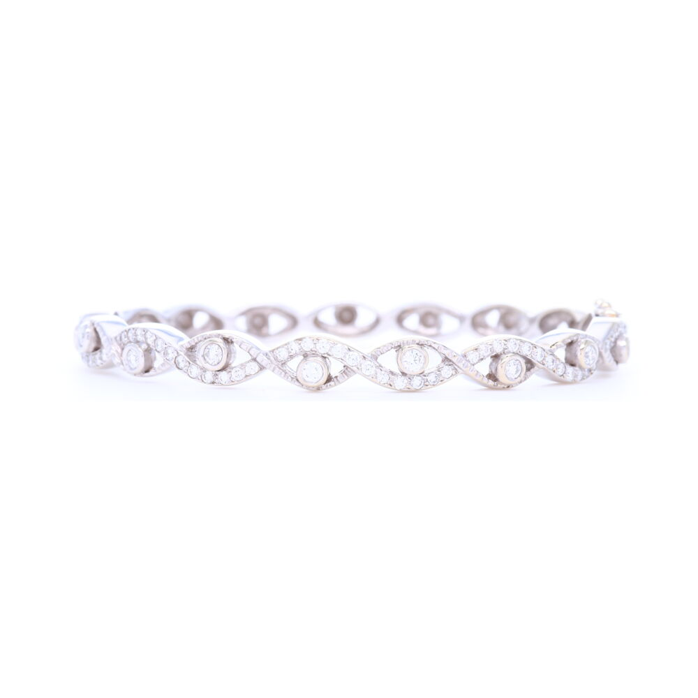 Doris Panos Cleopatra Diamond Bracelet
