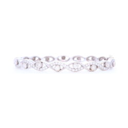Closeup photo of Doris Panos Cleopatra Diamond Bracelet