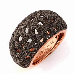 Closeup photo of Ring Shiny Pink
