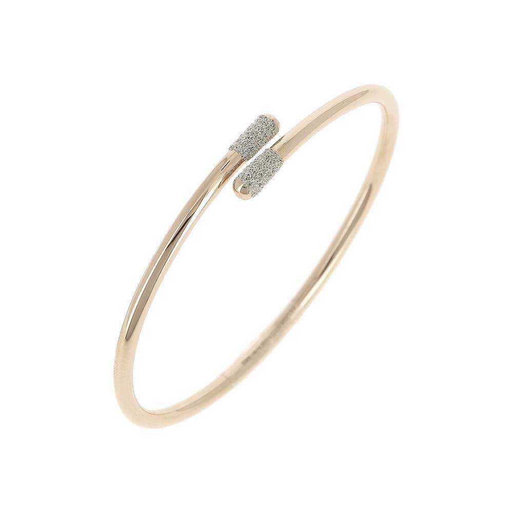 Crossover Diamanti Bangle Bracelet