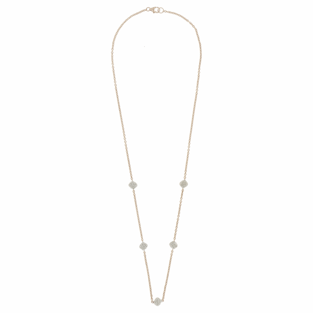 5-Station Diamond Diamanti Necklace
