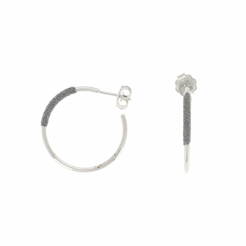 Thin Diamanti Small Hoop Earrings