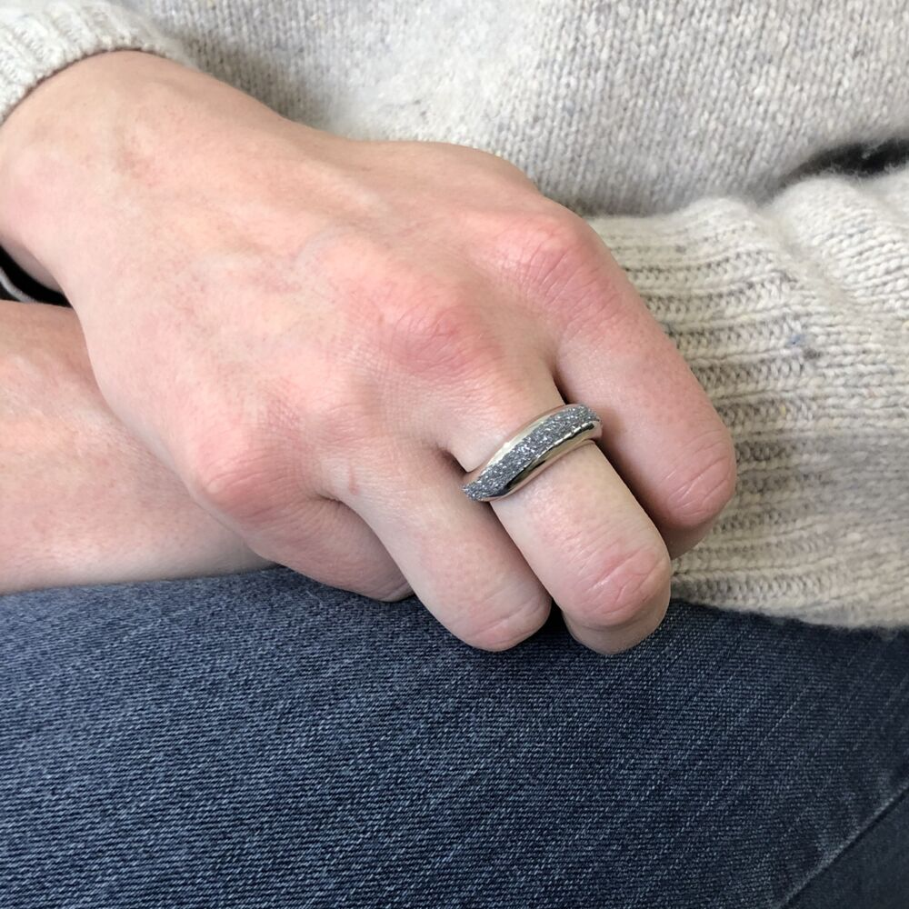 Image 2 for Wide Diamanti Ring