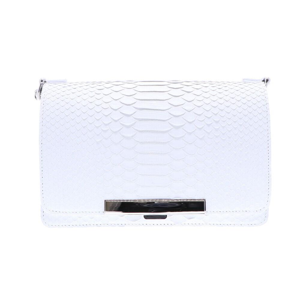 Python Chain Bag - White Matte7045