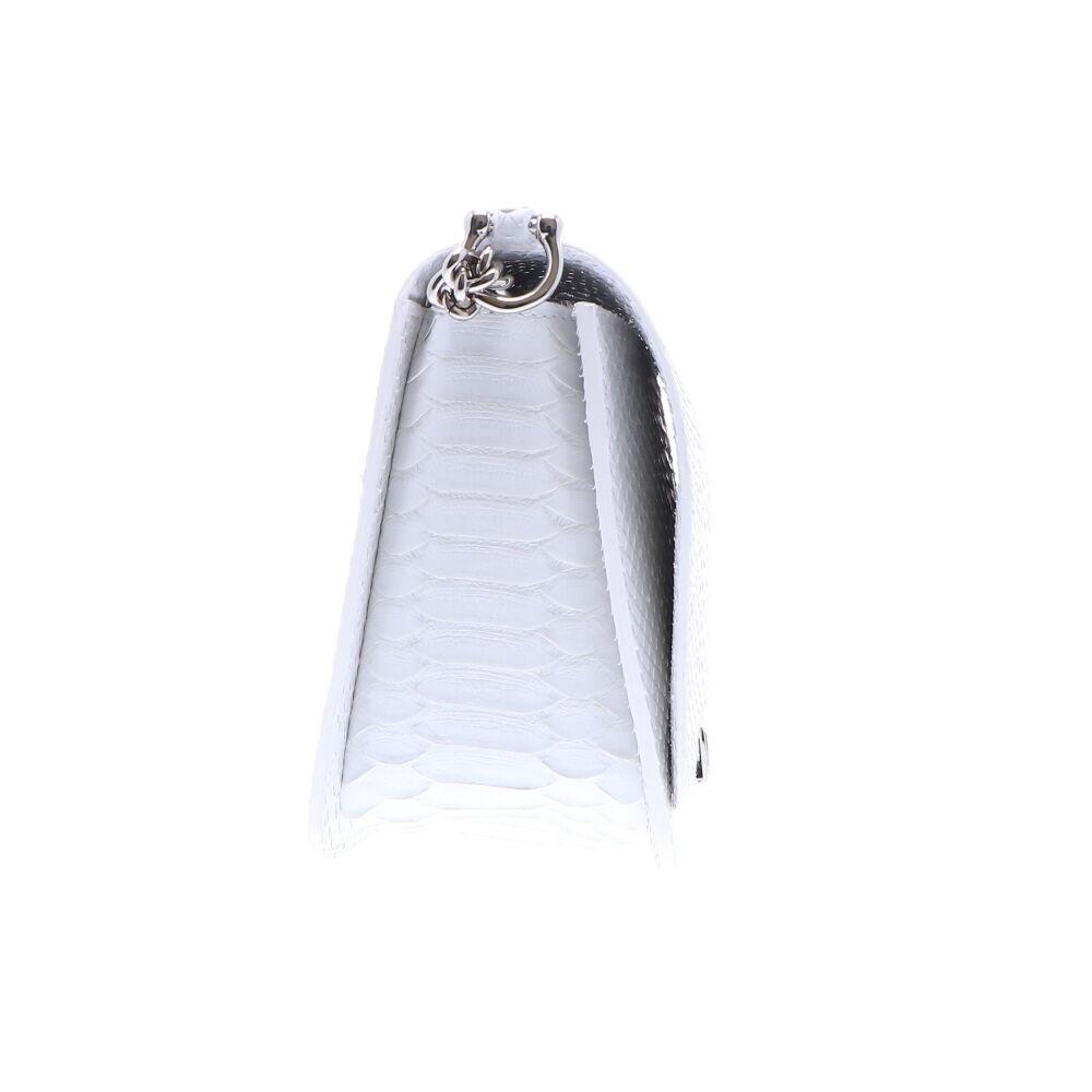 Image 2 for Python Chain Bag - White Matte7045