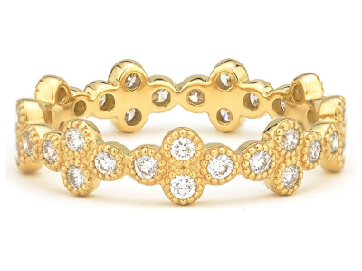 Provence Eternity Band Yellow Gold