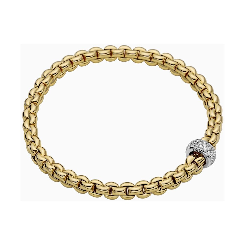 Image 2 for Flex'it Bracelet with Pave Diamond Rondel