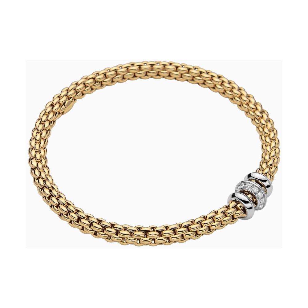 Image 2 for 18k Gold Flex'it bracelet with Diamonds 653BBR