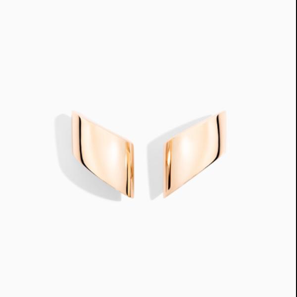 Closeup photo of Ear Clips Pink Gold - Vague Vague